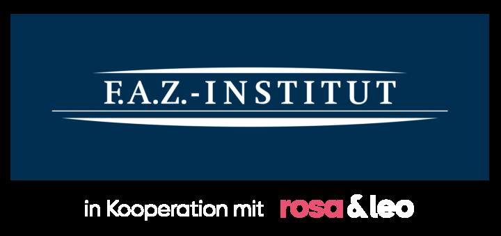 F.A.Z.-Institut rosa&leo Logo