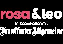 rosa&leo in Kooperation mit F.A.Z.